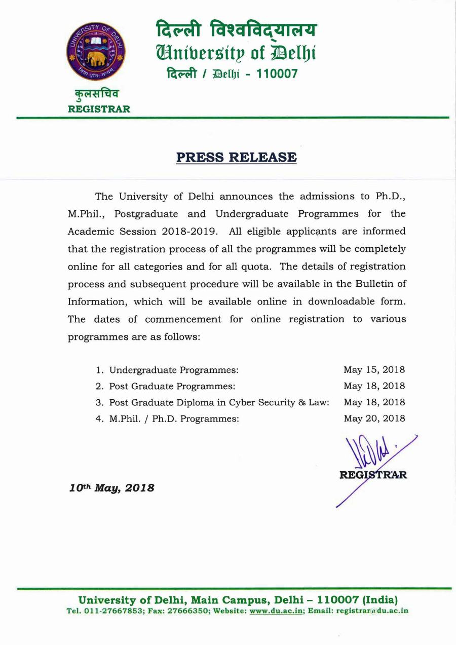 10052018-pr--Announcement-of-Admissions-to-UG,-PG,-M.Phil.,-Ph.D.-for-2018-19